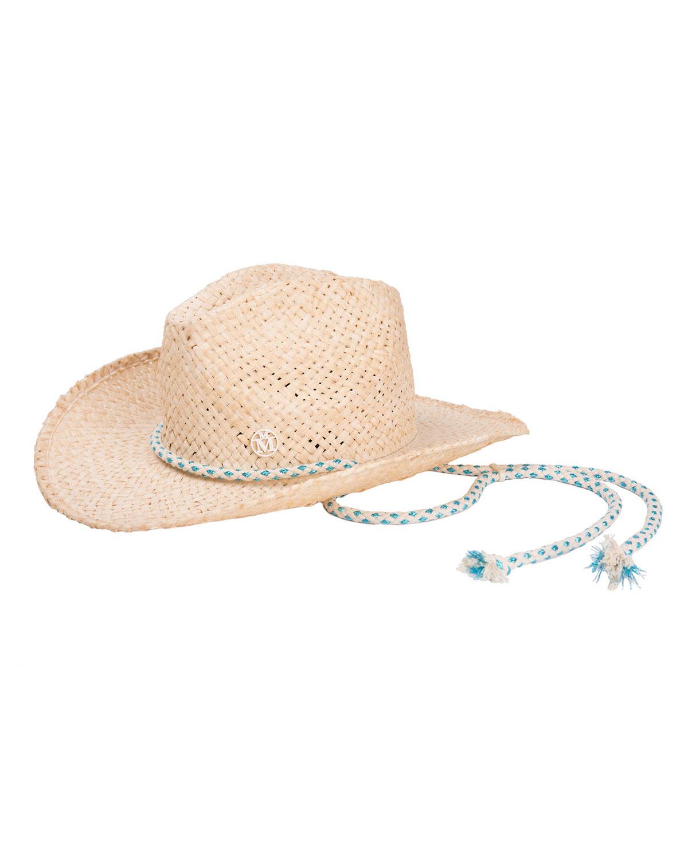 Maison Michel Hats AUSTIN RAFFIA COWBOY HAT