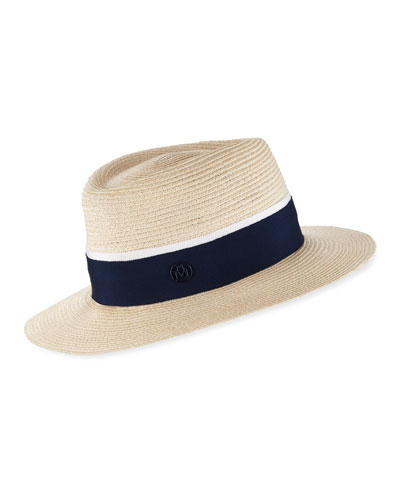 Andre Straw Fedora Hat