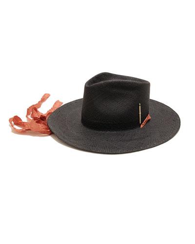 Brock x Nick 1 Straw Panama Hat