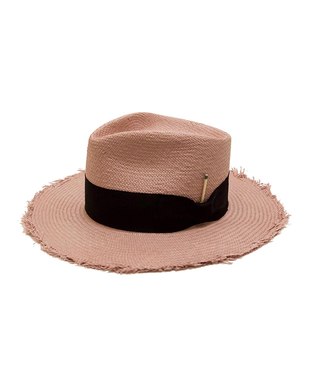 Nick Fouquet EXUMA STRAW FEDORA HAT