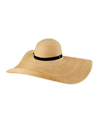 2b6a6e9a29fdd Quick Look. Helen Kaminski · Gillen Raffia Floppy Sun Hat. Available in  Black ...