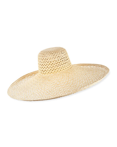 501cf23fe5597a Quick Look. Lola Hats · Pergola Woven Straw Sun Hat