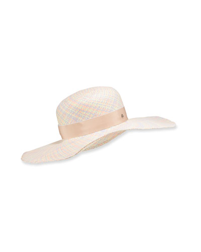 57fa85b4 Quick Look. Jane Taylor · Pastel Straw Floppy Hat
