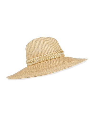 d44c270753f06a Quick Look. Gigi Burris · Jeanne Hand-Blocked Straw Panama Hat