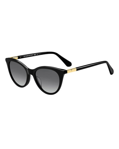 janalynn cat-eye sunglasses - polarized