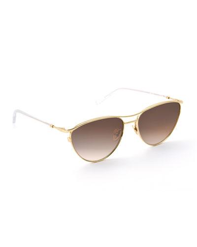 Cohn Cat-Eye Sunglasses