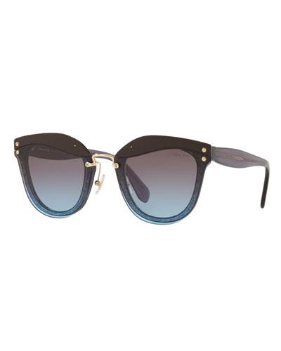 Square Gradient Sunglasses