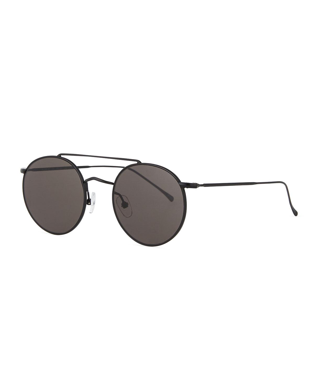 Illesteva Sunglasses ALLEN M ROUND METAL SUNGLASSES