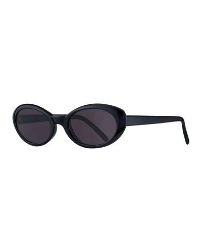 Seattle Oval Acetate Sunglasses