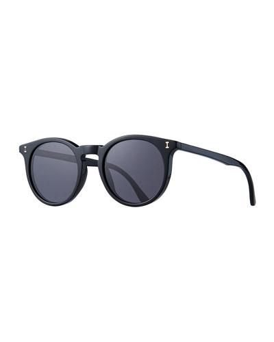Sterling Round Acetate Sunglasses