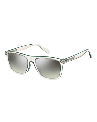 819701377ab3 Quick Look. Marc Jacobs · Mirrored Transparent Optyl Sunglasses