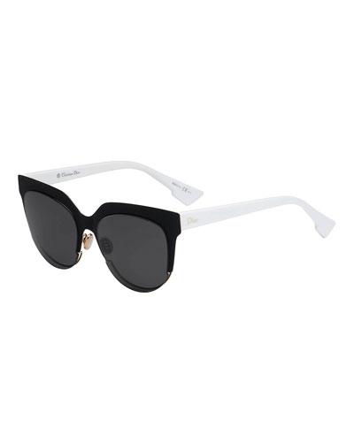 902bb33a97 Quick Look. Dior · Sight2 Two-Tone Square Sunglasses
