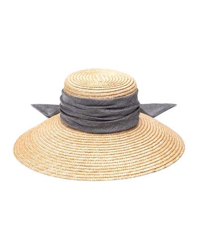 Annabelle Woven Straw Sun Hat