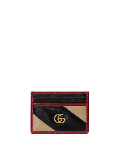 GG Marmont Torchon Card Case