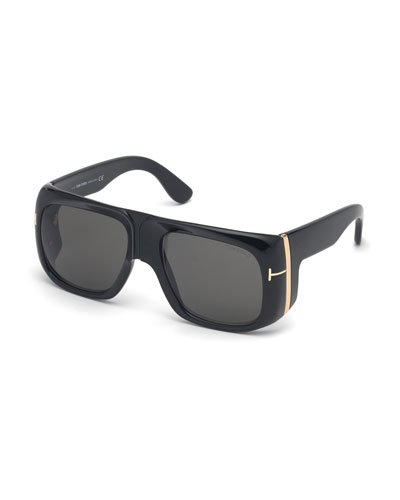 Gino Square Acetate Sunglasses