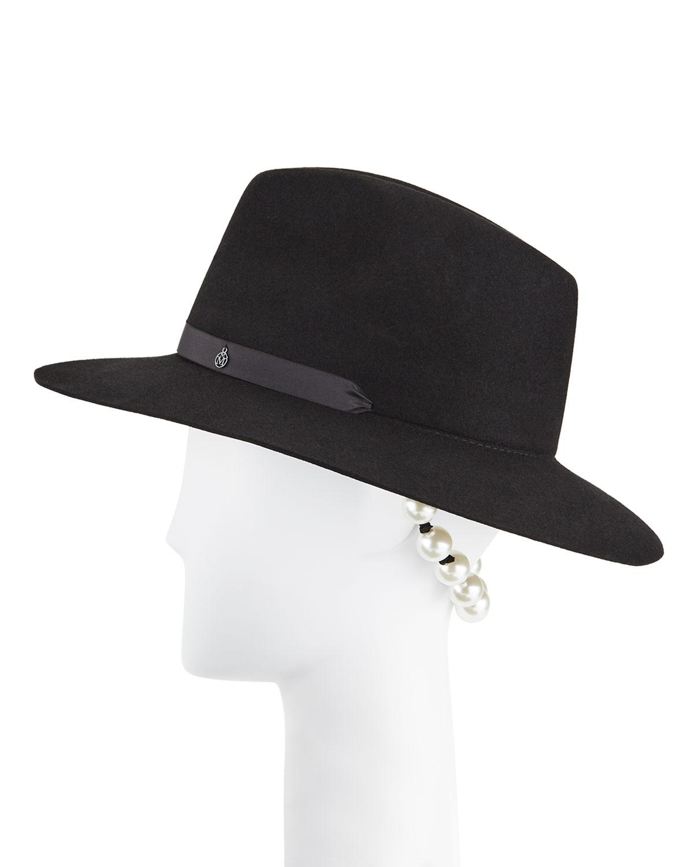 Rico Scarf Me Up Rabbit Felt Fedora Hat