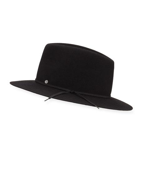 Maison Michel Andre On The Go Rabbit Felt Fedora Hat