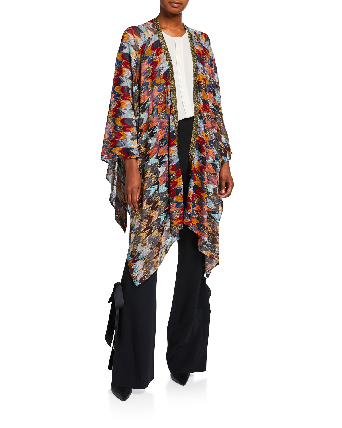 Missoni Tops MULTICOLOR PRINTED CLOAK