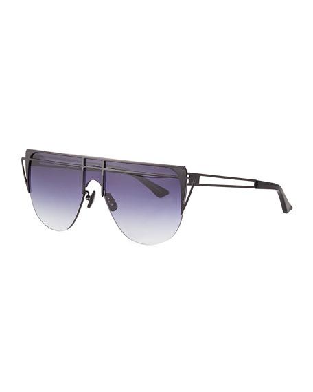 For Art's Sake Gradient Shield Sunglasses