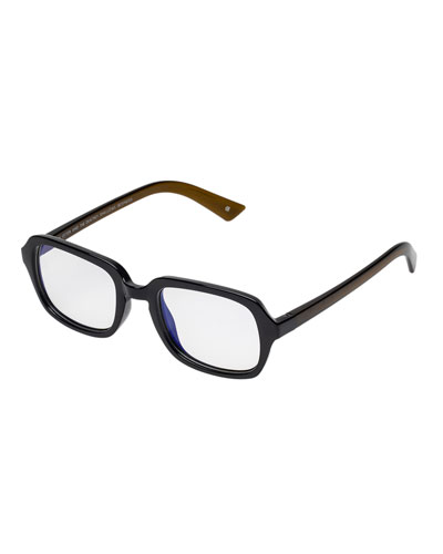 Hairy Otter Rectangle Reading Glasses
