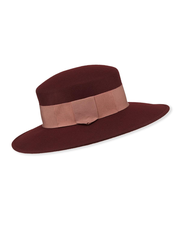 Marzi Hats SPAGNOLIA WIDE BRIM LAMB WOOL HAT