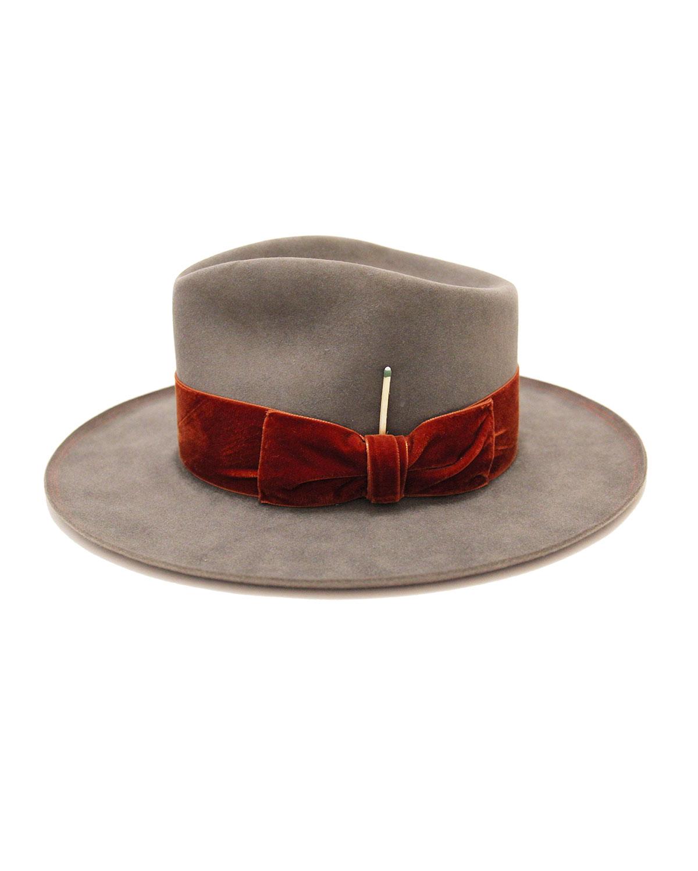 Nick Fouquet Hats PUBLIX BEAVER FELT FEDORA HAT