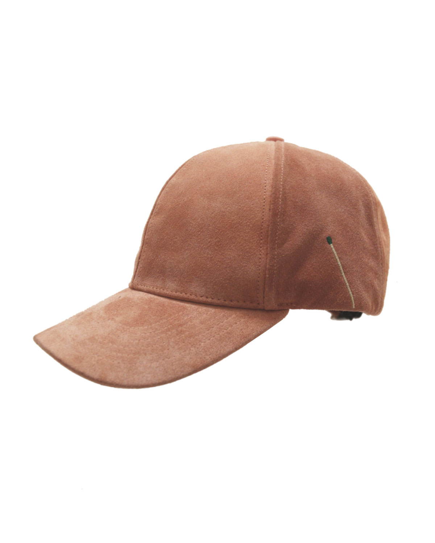 Nick Fouquet SUEDE BASEBALL CAP