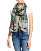 Faliero Sarti One Dollar Patterned Scarf