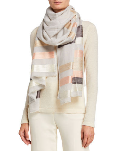 Mile A Minute Cashmere Scarf