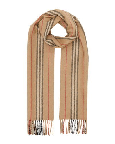 Icon Stripe Cashmere Scarf