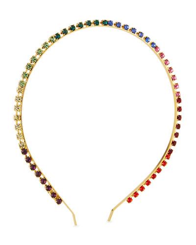Skinny Prism Swarovski Crystal Headband