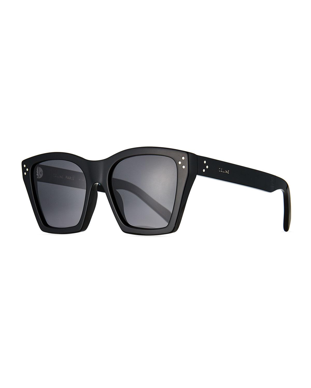 Square Acetate Polarized Sunglasses
