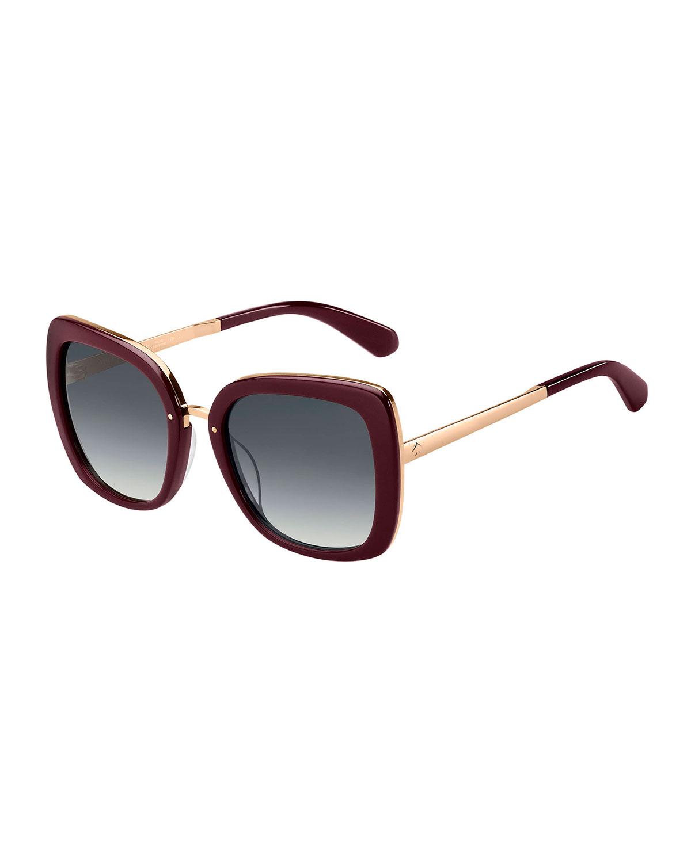 Kate Spade Sunglasses KIMORAGS BUTTERFLY ACETATE SUNGLASSES