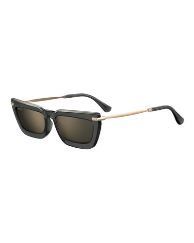 Velags Rectangle Propionate Sunglasses