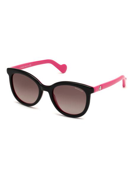 Moncler Cat-Eye Acetate Sunglasses
