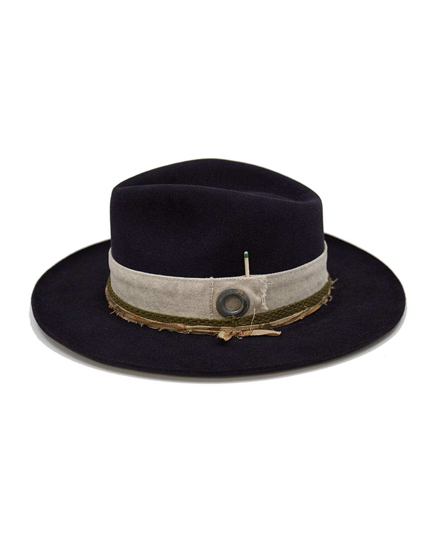 Esalen Beaver Felt Fedora Hat