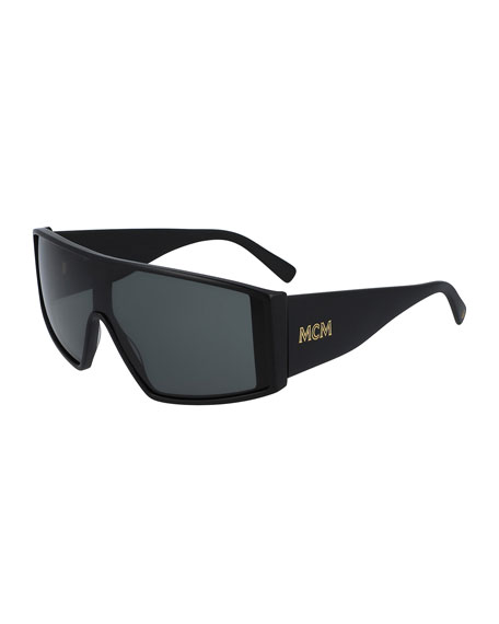 MCM Classic Logo Shield Sunglasses