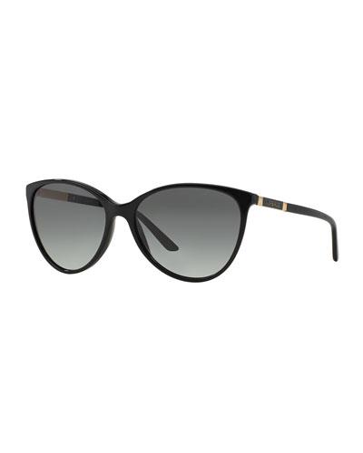 Men's Pilot Metal Aviator Sunglasses