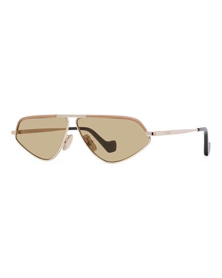 Loewe Cat-Eye Metal Sunglasses