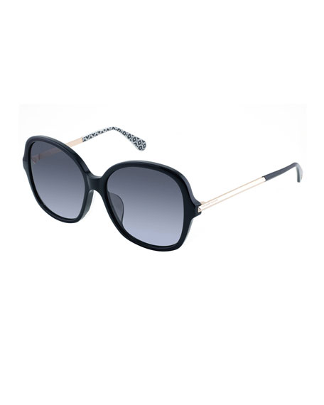 kate spade new york kaiyags square polarized sunglasses