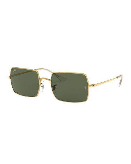 Ray-Ban Rectangle Metal Sunglasses