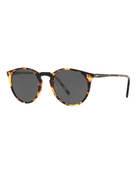 Oliver Peoples Round Acetate Sunglasses