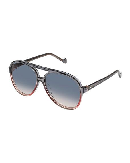Zimmermann Shoreline Acetate Aviator Sunglasses