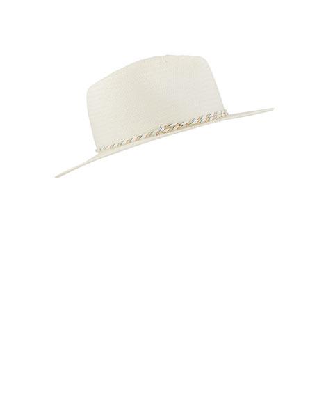 Rag & Bone Packable Straw Fedora Hat