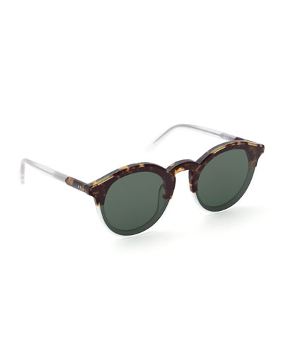 Collins Nylon Round Sunglasses