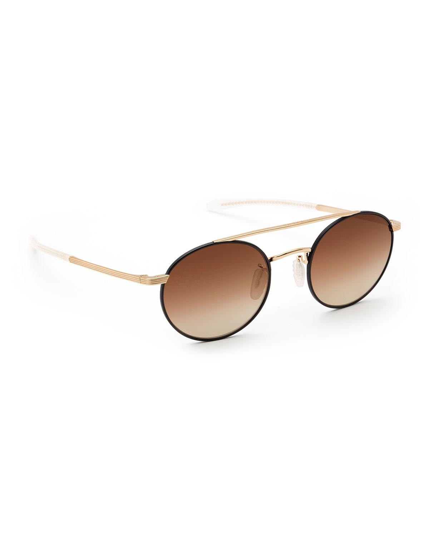 Driskill Round Titanium Sunglasses
