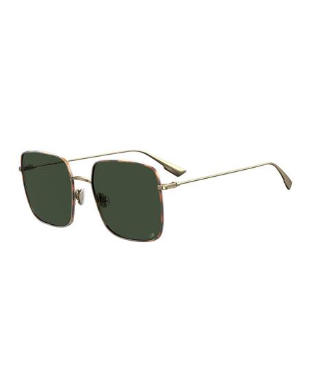 Dior Stellaire1XS Square Metal Sunglasses