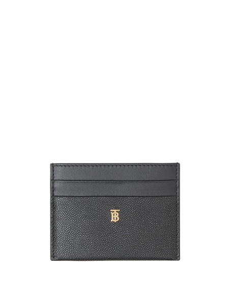 Burberry Sandon TB Leather Card Case