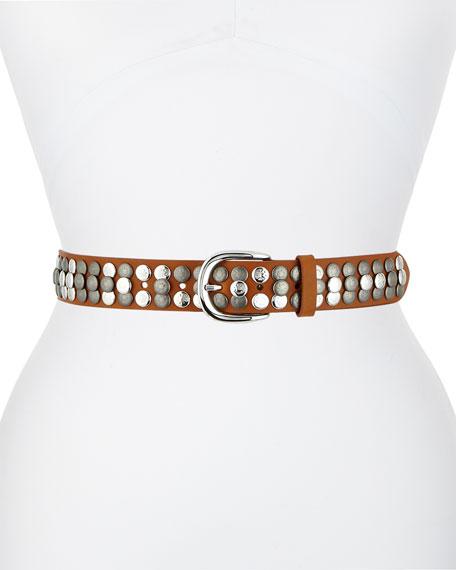 Isabel Marant Moha Studded Leather Belt