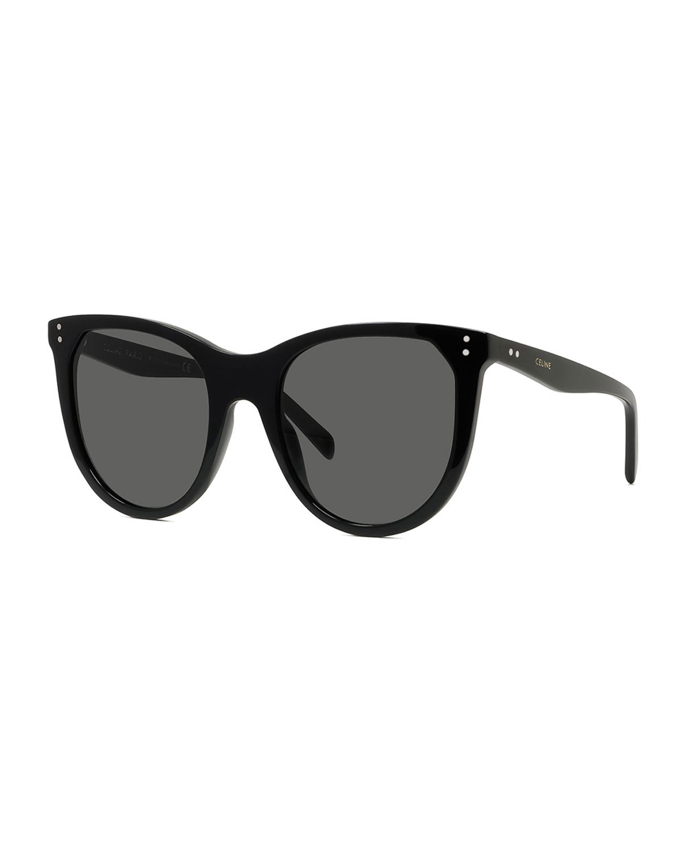 Oversized Oval Acetate Sunglasses